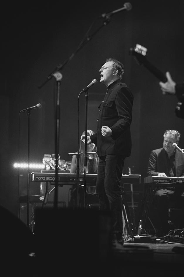 Magnus Carlson på scen