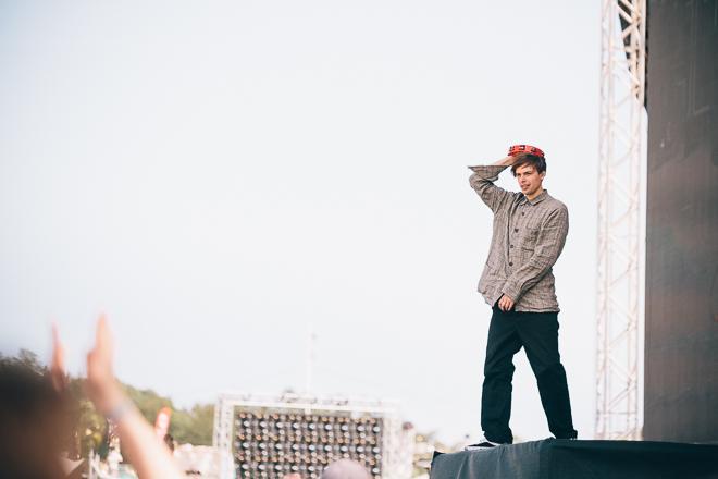 Junior Brielle på Lollapalooza